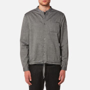 YMC Men's Beach Herringbone Shirt - Black