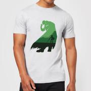 T-Shirt Homme Silhouette Zelda Ganondorf Nintendo - Gris Clair