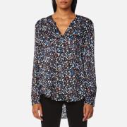 BOSS Orange Women's Efelize Shirt - Multi - EU 34/UK 6 - Multi