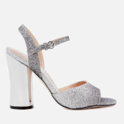 Miss KG Women's Erin Two Part Heeled Sandals - Gunmetal - UK 3 - Silver