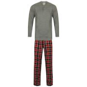 Tokyo Laundry Men's Jenkins Pyjama Set - Mid Grey Marl