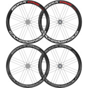 Campagnolo Bora One 50 Disc Brake Tubular Wheelset 2018 - AFS Rotor - Shimano/SRAM - Bright Label