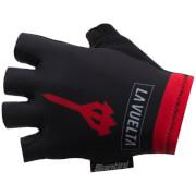 Santini La Vuelta 2017 El Infierno Angliru Race Gloves - Black