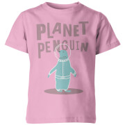 Planet Penguin Kid's Pink T-Shirt