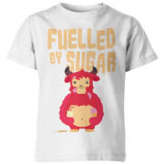 My Little Rascal Kids Fuelled by Sugar White T-Shirt