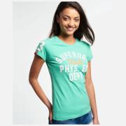 Superdry Women's Dept Entry T-Shirt - Hot Mint Marl