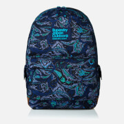 Superdry Women's Savanna Montana Backpack - Leaf Paisley Navy
