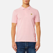 Lyle & Scott Men's Polo Shirt - Soft Pink