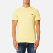 Lyle & Scott Men's Crew Neck T-Shirt - Pale Yellow