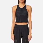 LNDR Women's Jog Crop Top - Black - L - Black