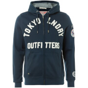 Tokyo Laundry Men's Mount Chippewa Zip Through Hoody - Navy
