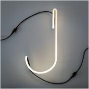 Seletti Alphafont Neon Letter - 35cm - J