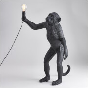 Seletti Standing Monkey Lamp - Black