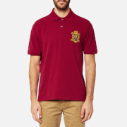Joules Men's Just Joules Polo Shirt - Rhubarb