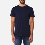 Hackett Men's Short Sleeve Logo T-Shirt - Navy