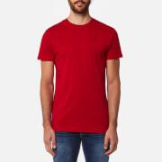 Hackett Men's Short Sleeve Logo T-Shirt - Red