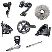 Shimano Ultegra R8070 Di2 11 Speed Groupset – Hydraulic Disc Brake – 175mm-11/30-39/53
