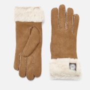Click to view product details and reviews for Ugg Australia Womens Sheepskin Classic Turn Cuff Gloves Chestnut L Tan.