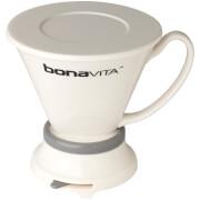 Bonavita BV4000IDV Wide Base Porcelain Coffee Immersion Dripper - White