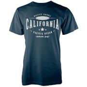 T-Shirt Homme Cali 1978 Native Shore - Bleu