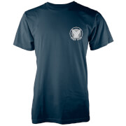 Native Shore Männer T-Shirt Surf Vibe Pocket Print - Navy