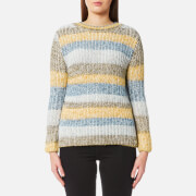 Barbour Women's Hive Knitted Jumper - Sun Gold
