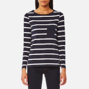 Barbour Women's Beachley Top - Dark Navy