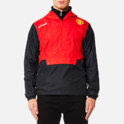 Columbia Men's Manchester United Flashback Windbreaker Pullover - Cherrybomb
