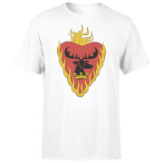 Game of Thrones Stannis Baratheon Sigil T-Shirt - Wit