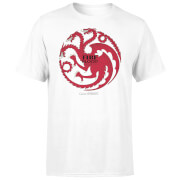 Game of Thrones Targaryen Fire and Blood T-Shirt - Wit