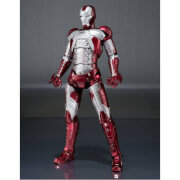 Image of Iron Man 2 S.H. Figuarts Iron Man Mark V & Hall of Armor Set 15cm Action Figure