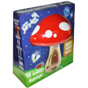 The Irish Fairy Door Company 3D Toadstool Ambient Light