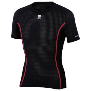 Sportful BosyFit Pro Short Sleeve Base Layer - Black