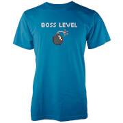 Boss Level Men's Blue T-Shirt