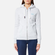 Superdry Women's Orange Label Primary Zip Hoody - Ice Marl