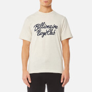 Billionaire Boys Club Men's Flock Script Logo T-Shirt - Oat