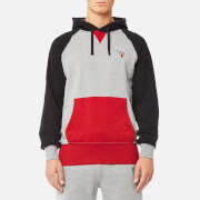 Billionaire Boys Club Men's Raygun Popover Hoody - Heather Grey