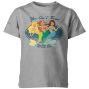 You Can't Swim With Us Kid's Grey T-Shirt