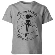 My Little Rascal Away With The Fairies Kid's Grey T-Shirt