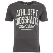 T-Shirt Homme Truman Crosshatch - Gris
