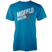 Midfield Maestro Men's Blue T-Shirt