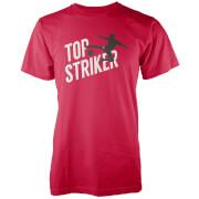 Top Striker Men's Red T-Shirt