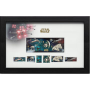 Star Wars Framed Stamps - Vehicles (43cm x 27cm)