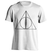 Harry Potter Men's Deathly Hallows Symbol T-Shirt - White