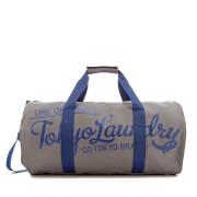 Tokyo Laundry Men's Gym Bag - Dorean Gray/Sapphire