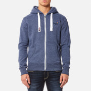 Superdry Men's Orange Label Zip Hoody - Maritime Grit