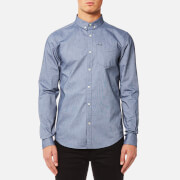 Superdry Men's Ultimate Oxford Long Sleeve Shirt - Classic Chambray