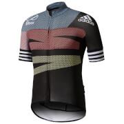 adidas Men's Adistar Jersey - Black/Red/Yellow