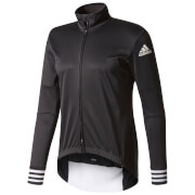 adidas Men's Adistar Long Sleeve Winter Jersey - Black
