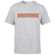 Nintendo Donkey Kong Distressed Men's Light Grey T-Shirt